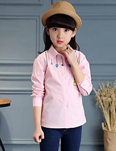 Mädchen T-Shirt Lässig/Alltäglich Druck Baumwolle Frühling Lange Ärmel