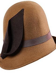 כובע דלי יוניסקס וינטאג',סריגה חורף