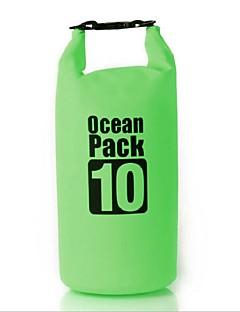 10 L 防水ドライバッグ 圧縮パック 防水バッグ 防水 速乾性 防雨 防湿 フローティング コンパクト 多機能の ヘッドセット のために 水泳 ビーチ キャンピング&ハイキング 屋外