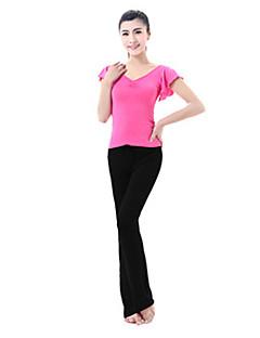 Ioga Conjuntos de Roupas/Ternos Respirável Confortável Com Elástico Moda Esportiva MulheresIoga