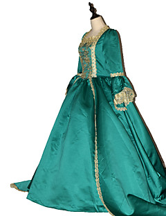 Steampunk® Women's Prom Gothic Brocade  Marie Antoinette Gown