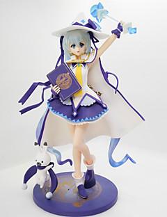 Figures Animé Action Inspiré par Vocaloid Snow Miku PVC 27 CM Jouets modèle Jouets DIY