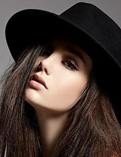 כובע פאדורה נשים וינטאג' יום יומי,תערובת כותנה צמר ויקוזה כל העונות