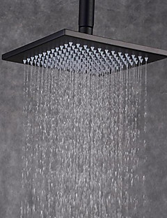 rain shower nickel brushed feature for rainfall shower head