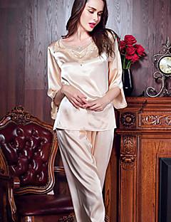 Damen Pyjama - Seide