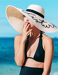 Damen Strohhut Sonnenhut - Freizeit Stroh Sommer