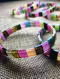 Bracelet Bangles Crystal Others Fashion Birthday Gift Christmas Gifts Jewelry Gift Beige Black Yellow Blue Gray Pink,1pc
