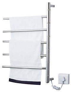 """Topení na ručníky Nerez Na ze´d 620 x 500 x 112mm (24.4 x 19.6 x 4.40"""") Nerez Moderní"""