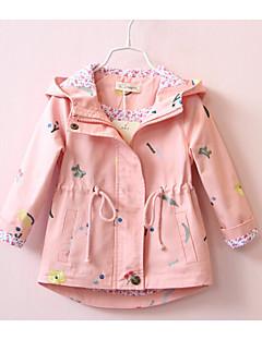 Anzug & Blazer Lässig/Alltäglich einfarbig Druck Baumwolle Frühling Herbst Lange Ärmel