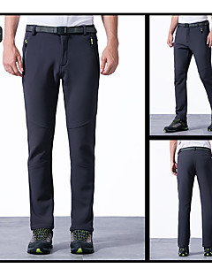 לגברים מכנסיים דיג שמור על חום הגוף סתיו חורף אפור שחור ירוק צבאי-ספורטיבי