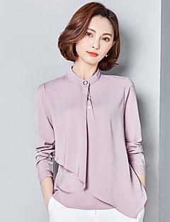 znak 2017 novi ovratnik šifon košulju velika dvorišta retro korejski ženski dugih rukava šifon košulja