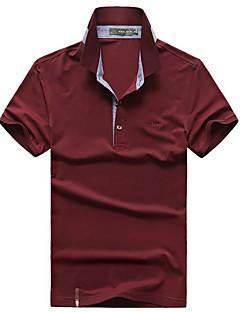 Men's T-shirt Breathable Summer White Red Royal Blue