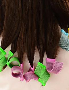 Krøllejern Hårrulle Til både vådt og tørt hår Bevarer krøller Normal