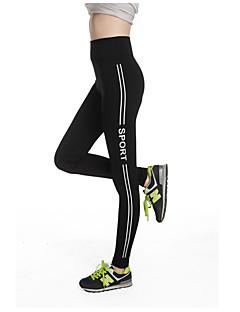 מכנסיים יוגה מכנסיים נושם דחיסה תומך זיעה גבוה גמישות גבוהה בגדי ספורט לנשים יוגה כושר גופני מירוץ