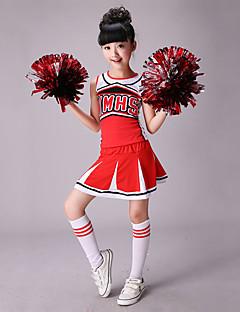 私たちはファッションスパンデックスパターン/プリント2ピースの子供の衣装の衣装を応援しなければならない