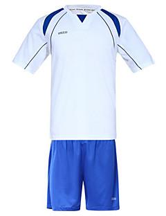 etto® Herre Fotball Skjorte + shorts Klessett/Dresser Pustende Fort Tørring Bekvem Svettereduserende Myk Vår Sommer Høst Klassisk