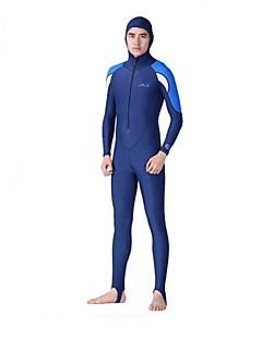 Homme Combinaison  Intégrale Respirable Séchage rapide Néoprène Tenue de plongée Manches longues Combinaisons-Plongée Printemps Eté Mode