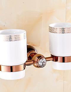 歯ブラシホルダー 浴室小物 / グリーン真鍮 /ネオクラシック