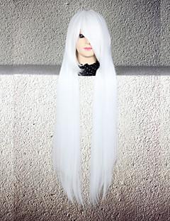 Косплэй парики Косплей Косплей Длиные Прямой силуэт Аниме Косплэй парики 80 См Термостойкое волокно