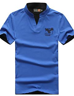 Miesten T-paita vaellukseen Hengittävä T-paita varten Retkeily ja vaellus Kalastus Kesä M L