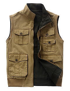 Men's Vest/Gilet Camping / Hiking Thermal / Warm Spring Fall/Autumn