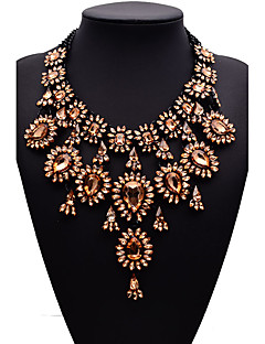 Femme Colliers Déclaration Bijoux Bijoux Gemme Alliage Mode euroaméricains bijoux de fantaisie Bijoux Pour Soirée