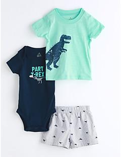 Baby Kinder Lässig/Alltäglich Geometrisch Kleidungs Set,Cartoon