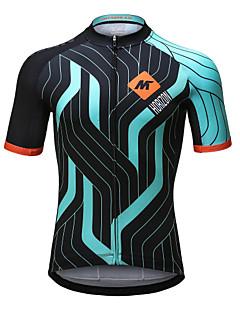 Mysenlan サイクリングジャージー 男性用 半袖 バイク ジャージー 速乾性 高通気性 ポリエステル ファッション 夏