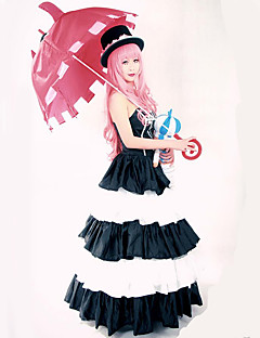 Inspired by One Piece Perona Anime Cosplay Costumes Cosplay Suits Dresses Vintage Sleeveless Dress Hat For Female
