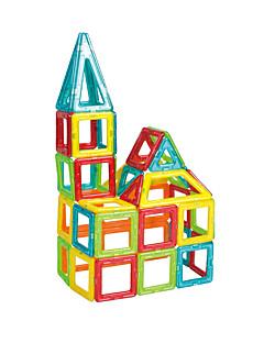Magnetic Blocks Gift Rakennuspalikat Neliö Kolmia 6-vuotias ja yli Lelut