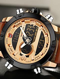 NAVIFORCE PánskéSportovní hodinky Vojenské hodinky Módní hodinky Náramkové hodinky Unikátní Creative hodinky Hodinky na běžné nošení