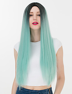 Lolita Wigs Sweet Lolita Green Color Gradient Lolita Wig 65 CM Cosplay Wigs Others Wig For