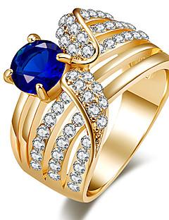 Γυναικεία Εντυπωσιακά Δαχτυλίδια Δαχτυλίδι Κρυστάλλινο Βασικό Μοναδικό Στρας κοσμήματα πολυτελείας Κοσμήματα με στυλ Κλασσικά κοστούμι