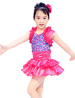 Gyermek táncruhák Ruhák és szoknyák Gyermek Teljesítmény Szatén