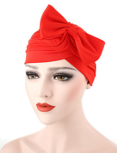 כובע עם שוליים רחבים מוצק כותנה קיץ/אביב קיץ כובע פרח נשים פפיון