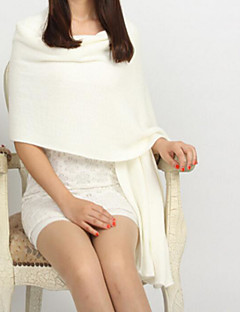 Women's Imitation Cashmere Rectangle Solid Winter Fall/Autumn