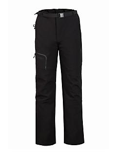 Miesten Softshell-housut Pidä lämpimänä Tuulenkestävä Fleece-vuori Sateen kestävä Käytettävä Hengittävä Mukava Alaosat varten Metsästys