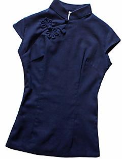 Blusa/Camisa Lolita Clássica e Tradicional Inspiração Vintage Cosplay Vestidos Lolita Estampado Vintage Lolita Blusa Para Linho Algodão