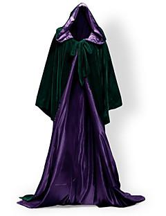 Mantel Cosplay Kostüme Umhang Hexenbesen Party Kostüme Maskerade Haloween FigurenSuperheld Bat/Fledermaus Zauberer/Hexe Königin Geist