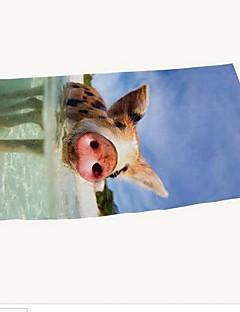 Strandhåndkle Høy kvalitet 100% Polyester Håndkle