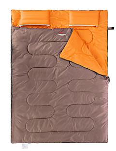 שק שינה שק שינה מלבני כפול 5 כותנה חלולהX145 קמפינג שמור על חום הגוף נייד Naturehike