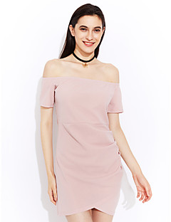 aliexpress女性の対外貿易の爆発モデル2017春と夏の襟の半袖のドレススカート