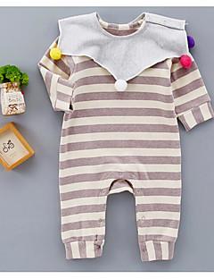 Baby Einzelteil Streifen Baumwolle Frühling/Herbst Lange Ärmel