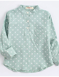 Boys' Polka Dots Blouse,Cotton Fall