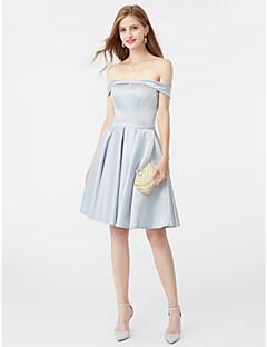 Trapèze Princesse Mi-long Satin Soirée Cocktail Retour Robe avec Ceinture / Ruban par TS Couture®