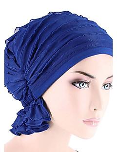 כובע עם שוליים רחבים מוצק כותנה כל העונות כובע נשים צבע טהור