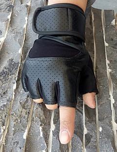 Masculino Esportes Ao ar Livre Poliuretano Algodão Fibra Sintética Primavera/Outono Verão Até o Pulso Meio Dedo,Color Block