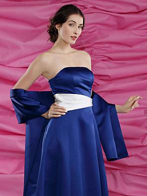 Hochzeit Wraps / Schals Schals Satin Royal Blau Party