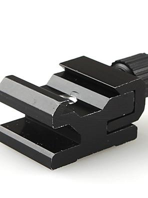 """hot shoe flash stativ adapter med 1/4 """"-20 stativ skrue"""