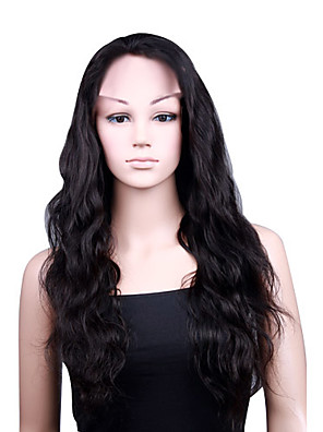 """capless Boday ondes 20 """"perruque 100% cheveux humains 5 couleurs au choix"""